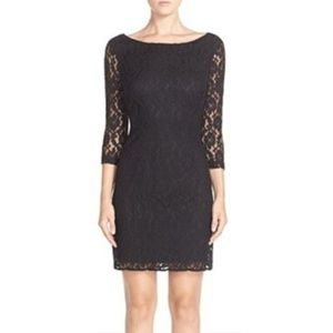 The Limited Black Lace Dress